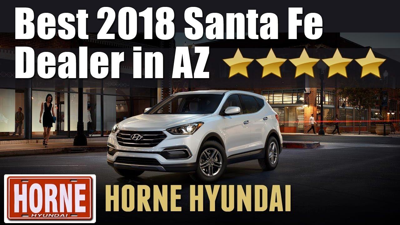 Best 2018 Hyundai Santa Fe Dealer Arizona | 5 Star Reviews | (480) 771 1184