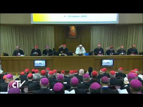 Sinodas nėra parlamentas, kur daromi kompromisai