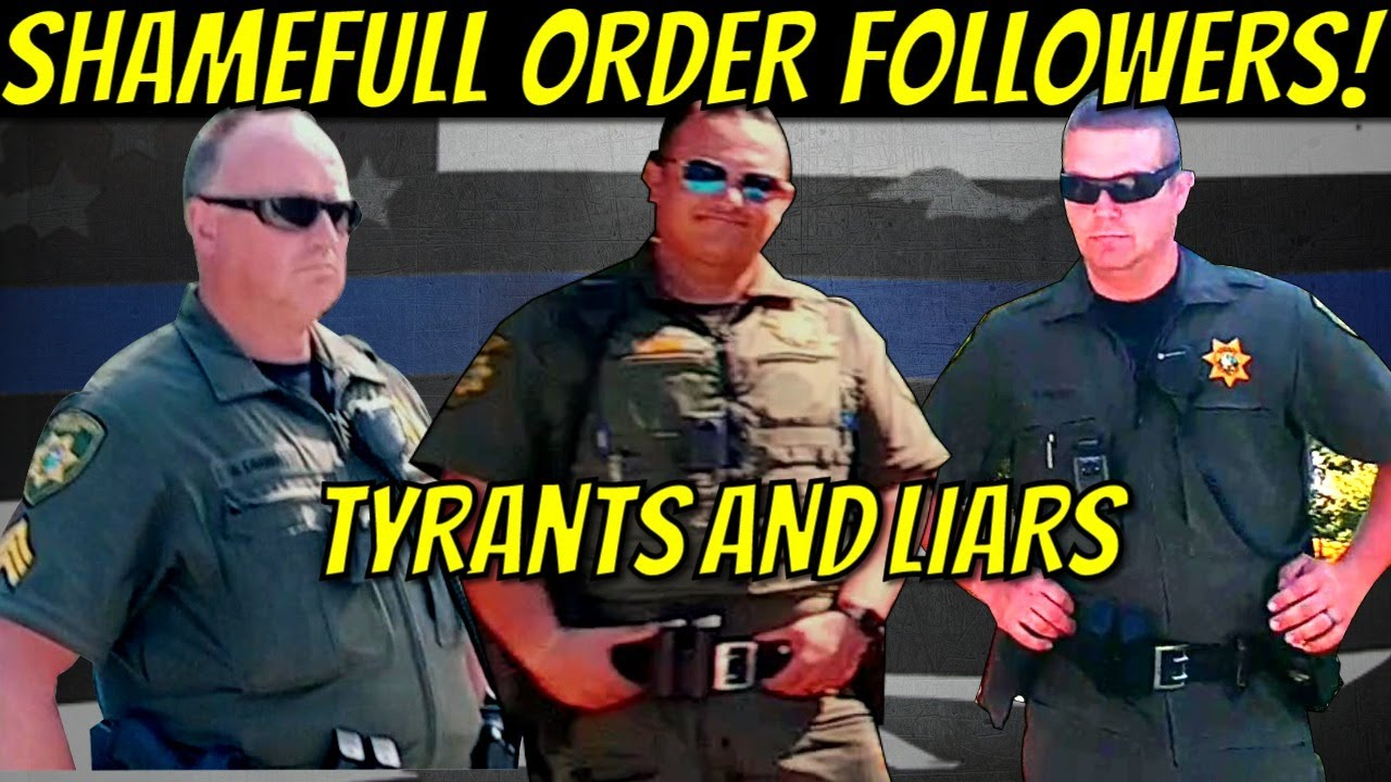 TYRANTS Use Force To Stop Speech!  Panhandle Health in Hayden, ID Calls in Armed Thugs For Speech!