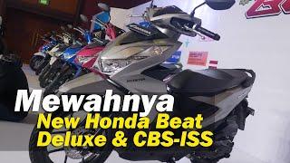 Mewahnya Honda Beat CBS-ISS dan Deluxe 2020 .. ada power Chargernya sob | #TMCBLOG #1214