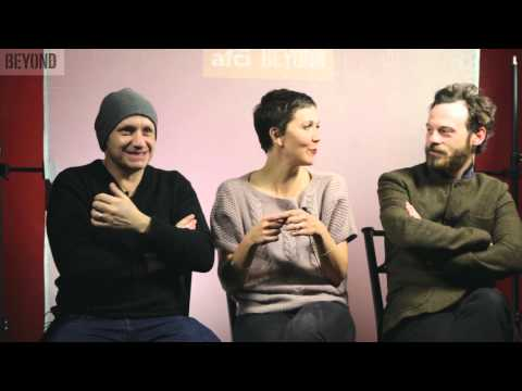 "Maggie Gyllenhall, Scoot McNairy, and Lenny Abrahamson discuss ""Frank"" at Sundance 2014"