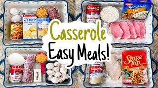 5 of THE BEST EASY Casserole Recipes!  Julia Pacheco