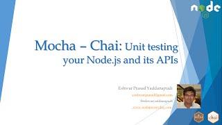 Mocha Chai Unit testing Nodejs :Part 2