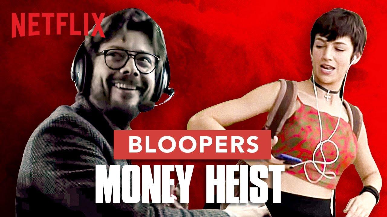 Download Extended Bloopers | Money Heist | La Casa De Papel | Netflix India