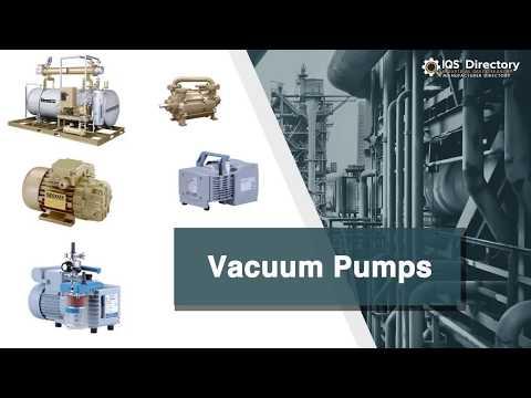 Vacuum Pump Manufacturers Suppliers | IQS Directory