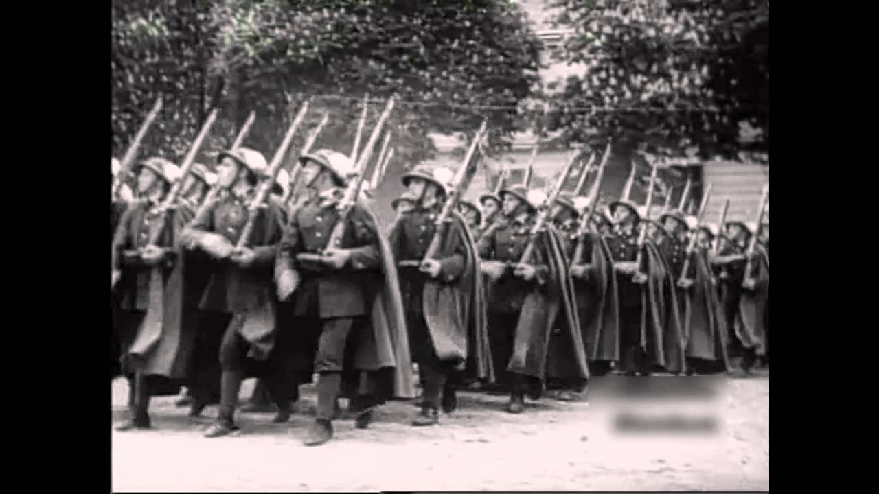 Piechota Ta Szara Piechota Maszerują Strzelcy Marsz Patriotycze Piechota Pieśń