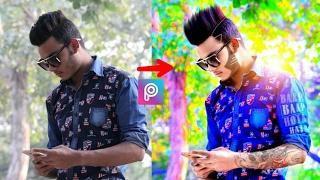 change look cb edit hair hdr effect   picsart editing tutorial   taukeer editz
