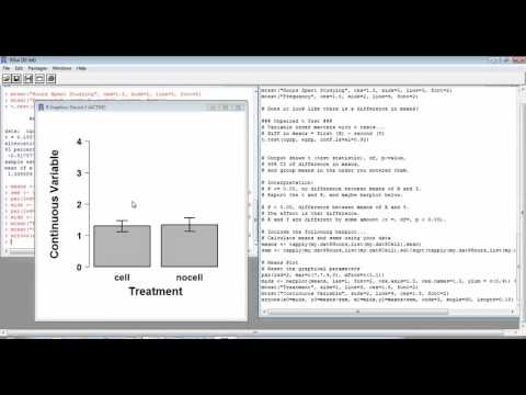 Using R to create a barplot with SEM error bars