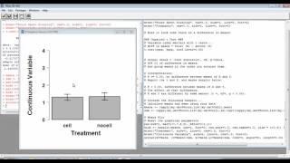 باستخدام R لإنشاء barplot مع SEM أشرطة الخطأ