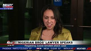 NIGERIAN BROS LAWYER SPEAKS: Regarding Jussie Smollett Alleged Attack Case (FNN)