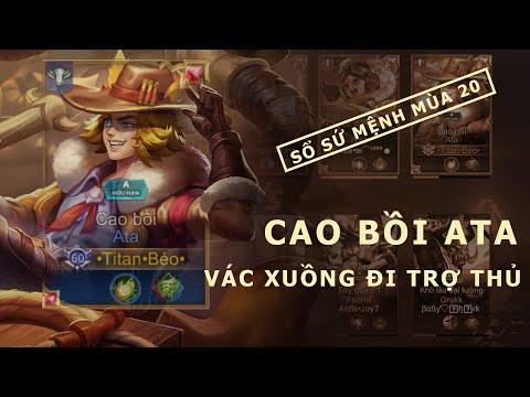 Liên Quân Mobile | Ata Cao Bồi đi xuồng duy nhất trên thế giới - by Titan Gaming