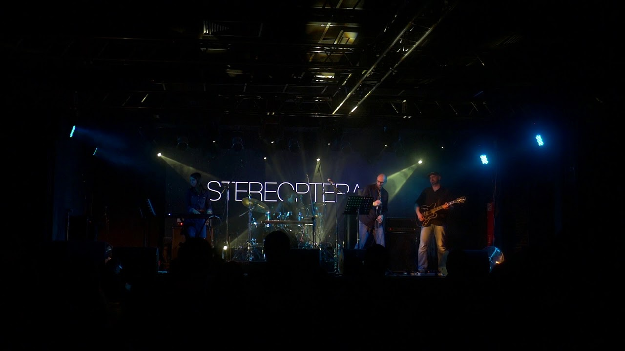 LIVE STEREOPTERA In  CLUBZAL, Saint Petersburg