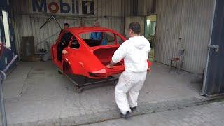 Polskie Porsche #55 - Lakier gotowy! Czas na polerowanie i Wasze paczki!