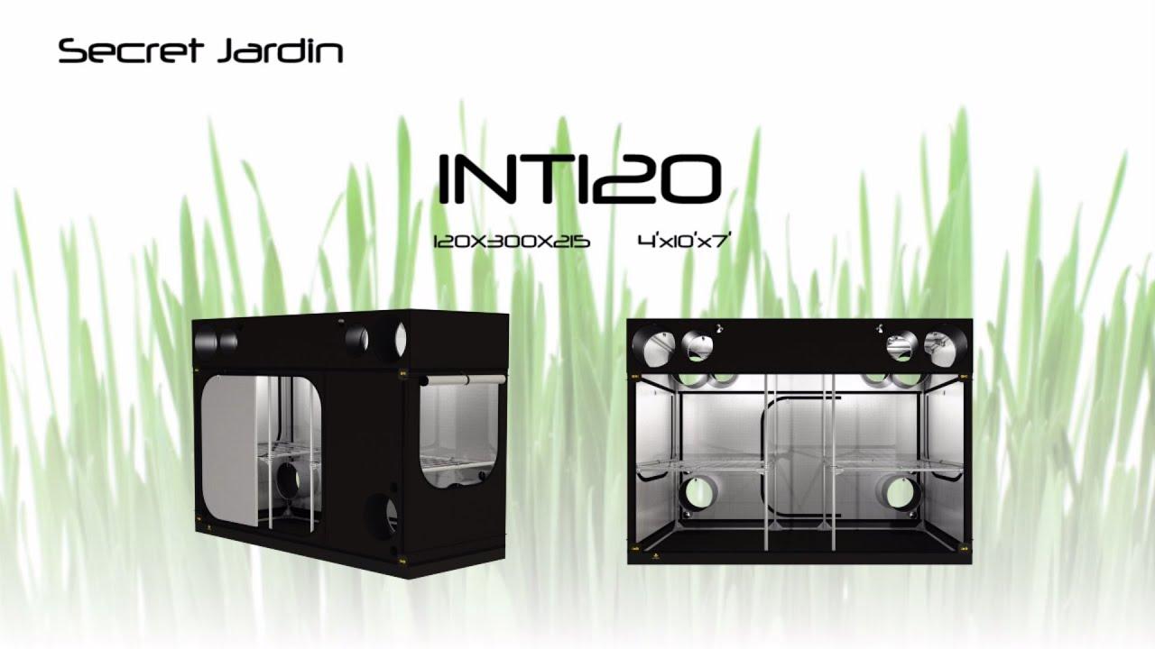 Intense 120 instruction youtube for Buy secret jardin