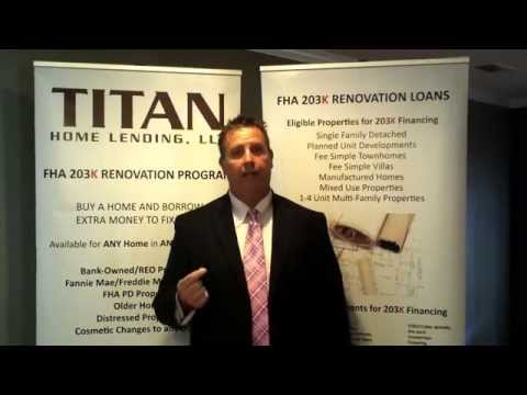 Titan Home Lending LLC Tampa 203k Experts