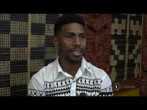 The Flying Fijians arrive in Te Arawa