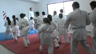 Partes Examen Dojo ken Kon El Calafate Okinawa GOJU-RYU Karate Do 2012