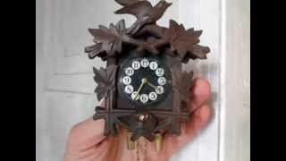 Miniture Estate Cuckoo Clocks On Ebay