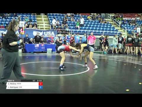 Championship 100 Round of 32 - Carolyn McGray (MEMI) vs. Lizette Rodriguez (CAB)