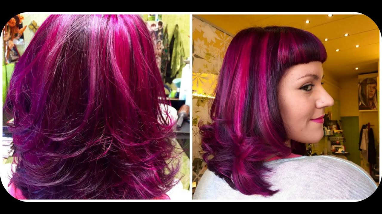 Super Capelli fucsia + veterinario Vlog - YouTube EL44