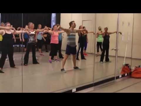 Kinky Boots Choreography Class Take One