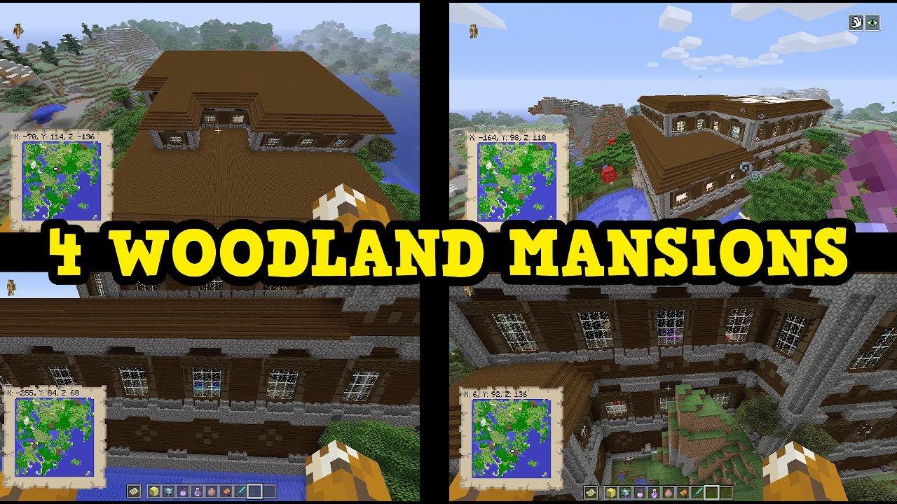 Minecraft Xbox 360 Wii U TU54 4 WOODLAND MANSIONS 1