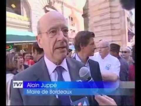 Interview TV7  Alain Juppé / Nicolas Florian