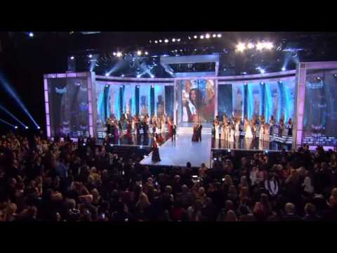 Leah Cecil, Miss California, Competes in Miss America Competition