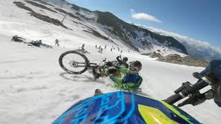 Megavalanche Snow section 2018