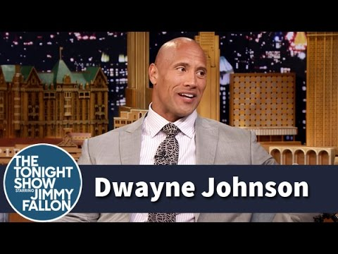 Dwayne Johnson Really Stood Out at 15 Years Old