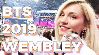 My Full BTS LONDON WEMBLEY Concert Experience 2019 | Day 2 VLOG Speak Yourself