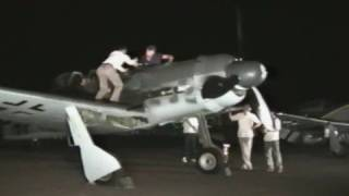 Fw190D Engine Runs