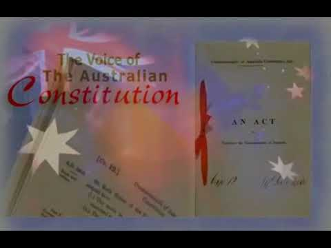 AUSTRALIAN CONSTITUTION - The Voice Of The Australian Constitution
