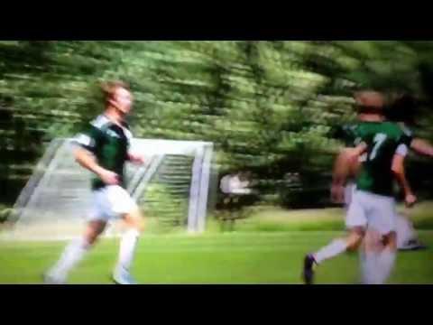 WSU96 Green Andrew Bailiff scoring goal in 2-0 Region II Championship opening win - Des Moines, Iowa