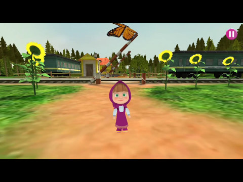 Masha, Run! Masha And Bear Game By ИТМР Android Game For Kids