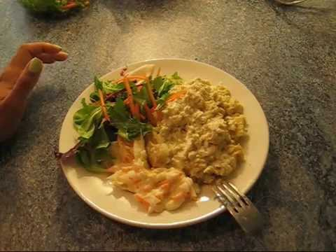 High Protein Baked Potato Bodybuilding Meal