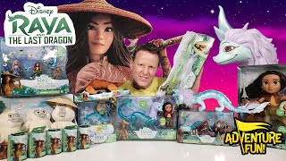 Raya And The Last Dragon Official Movie Trailer Toys Action Figures! AdventureFun Toy review!