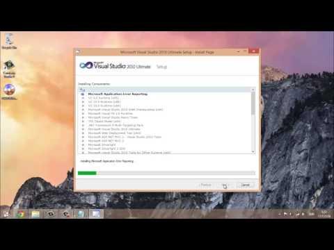 สอนเขียนโปรแกรมภาษา VB.NET - การติดตั้ง Visual Studio 2010