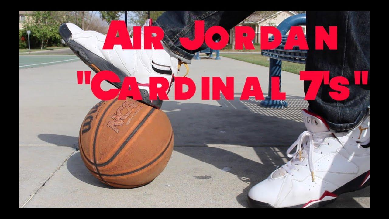 on sale 944be 044ca Feature Fit Friday (Nike Air Jordan 7 Cardinal +Jordan Retro 8 Playoff)  Spring Summer Looks  HBK Bil - YouTube