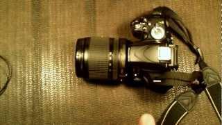 как снимать видео nikon 3100