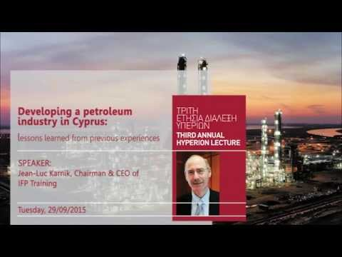 3rd Annual Hyperion Lecture with Mr. Karnik at the University of Cyprus