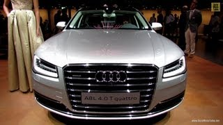 2014 Audi A8L 4,0T Quattro - Exterior and Interior Walkaround - 2013 Frankfurt Motor Show