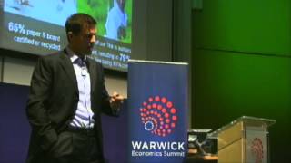 Pier Luigi Sigismondi - A World Class Supply Chain - Warwick Economics Summit 2014