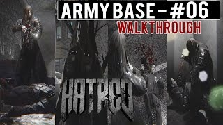 "HATRED Walkthrough (FULL) - Part 6 ""Army Base"" Gameplay ULTRA 1080p60fps"