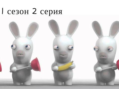 Мультфильм бешеные кролики 2