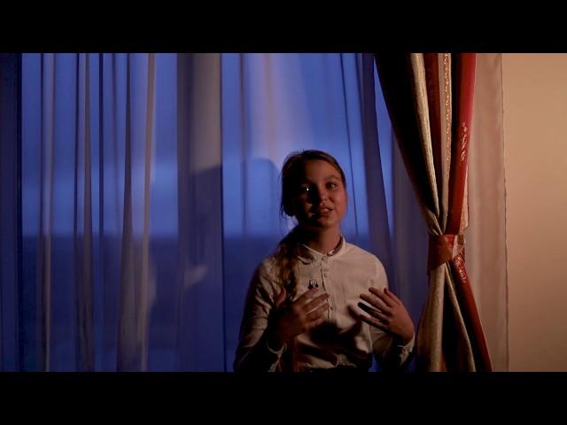 Изображение предпросмотра прочтения – АнастасияПавлова читает произведение «Глядел я, стоя над Невой» Ф.И.Тютчева