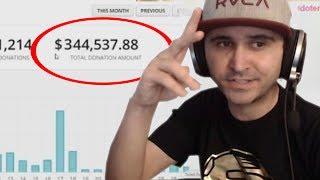 5 Twitch Streamer die ihre Einnahmen zeigten