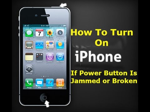 iphone 4 will not turn on how to turn on iphone without touching power button 19295