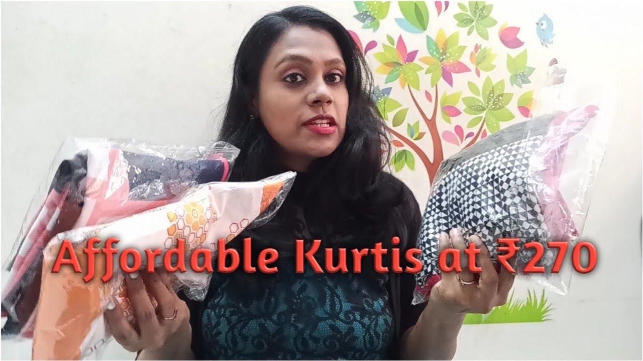 Affordable Kurtis On Flipkart || ఫ్లిప్కార్ట్ లో  కుర్తీలు ఇంత తక్కువ ధరకా 😱😱