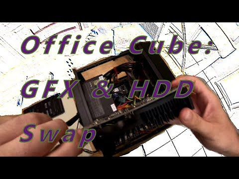 Office Cube Build Series: Graphics Card & 2nd Hdd